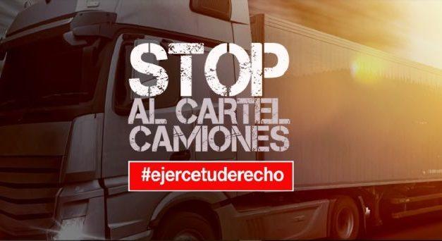 NACE LA PLATAFORMA STOP AL CARTEL DE CAMIONES