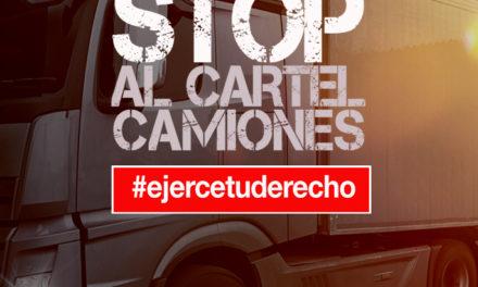 VARONA LOGRA INDEMNIZACIONES PARA LOS TRANSPORTISTAS POR EL CÁRTEL DE CAMIONES