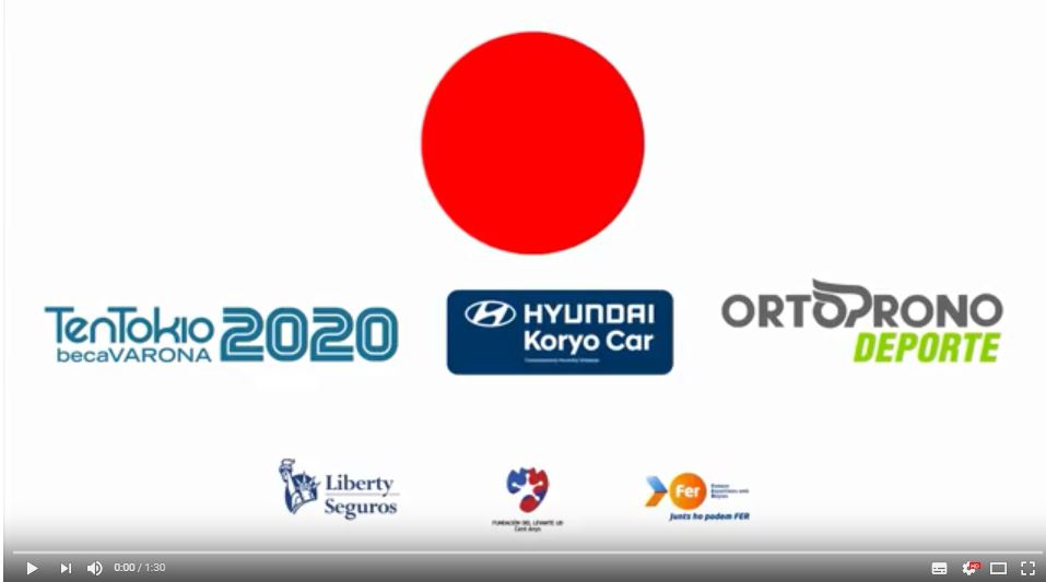 EL SUEÑO DE  RICARDO TEN EN TOKIO 2020 EN IMÁGENES