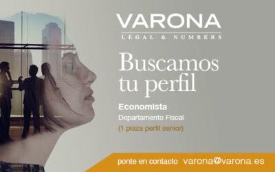 PROCESO DE SELECCIÓN: BUSCAMOS ECONOMISTA SENIOR